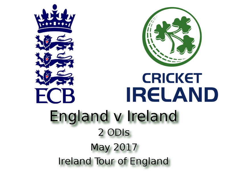 Ireland Tour of England 2017