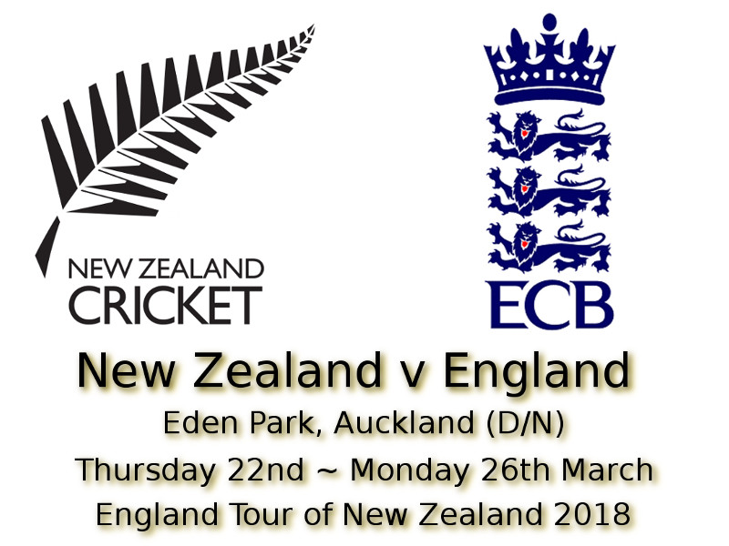 Devildogs New Zealand v England 1st Test Auckland Archive