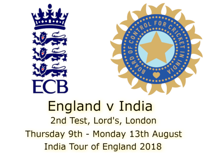 Devildogs England v India Lord's 2nd Test Archive