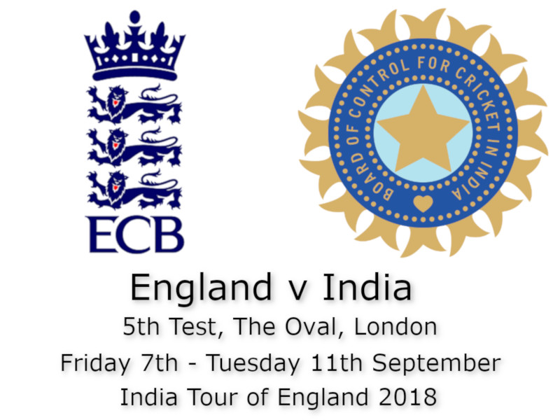 Devildogs England v India The Oval 5th Test Archive