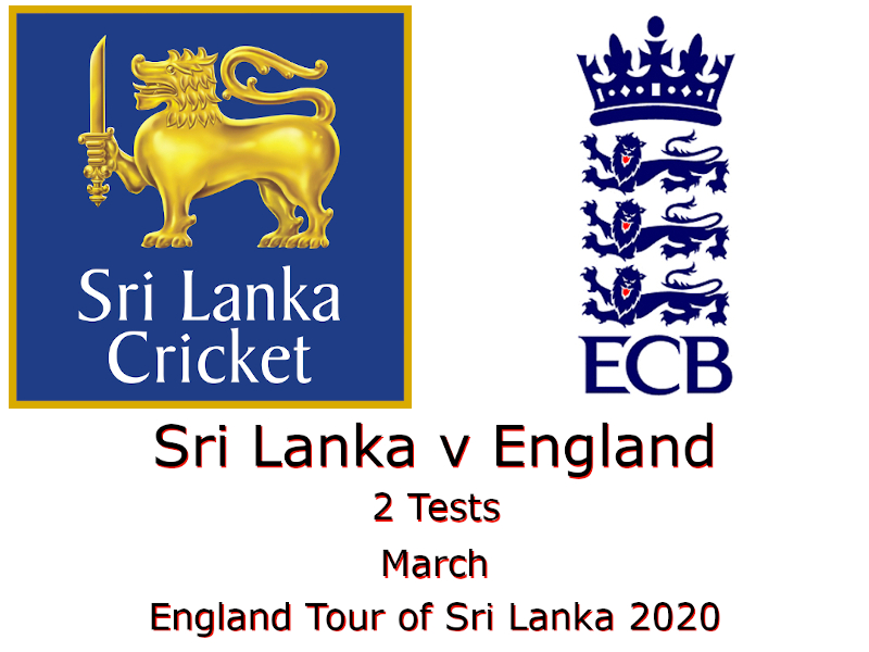 England Tour of Sri Lanka 2020