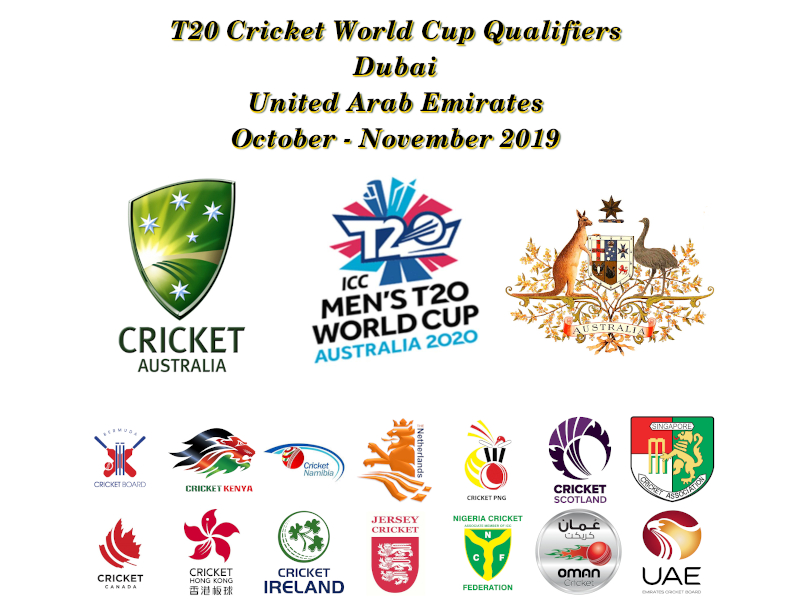 Devildogs T20 World Cup Qualifiers Blog Archive